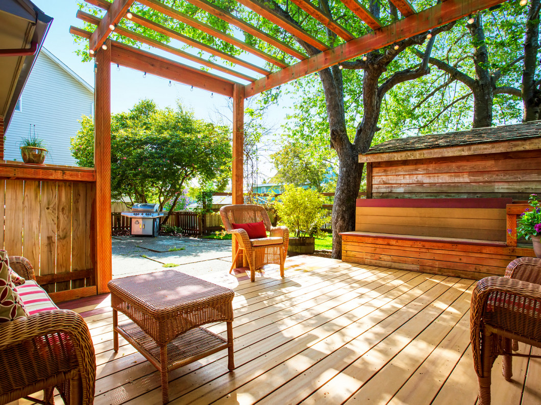 Spend a Beautiful Summer Day on Your Deck